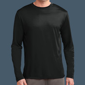 Long Sleeve Performance Tee (Black)