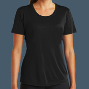 Ladies Performance Tee (Black)