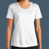 Ladies Performance Tee (White)