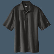 Embroidered NIKE Golf Tech Basic Dri FIT Polo (Black)