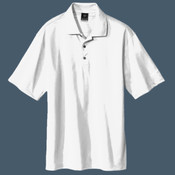 Embroidered NIKE Golf Tech Basic Dri FIT Polo (White)